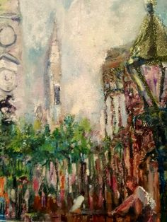 Impressionism by Impressionist FineArtist TuckerDemps.   Original oil on canvas,  16x20.