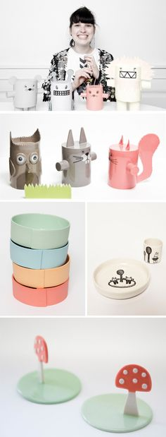 Love the work of ceramic artist Pi Bjørg...