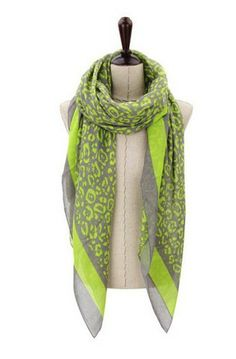 Fluoro Yellow Scarf - Peppermint Sunday $22.95 AU, lovely soft Viscose scarf perfect for brightening your outfit.  www.peppermintsunday.com.au