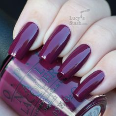 Officially my new favorite - Casino Royale from OPI Skyfall Collection
