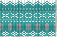 Tricksy Knitter Charts: cross stitch fair isle by MacGregor Yarn Works