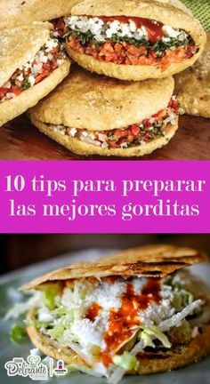 how to make gorditas Real Mexican Food, Mexican Cooking, Mexican Food Recipes, Ethnic Recipes, Gorditas Recipe, Deli Food, Mexican Dishes, Love Food, Food To Make