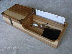 Mens Valet, Iphone Docking Station, Bill Holder, Wooden Organizer, Desk Tray, Woodworking Shows, Small Book, Desktop Organization, Ipad Stand