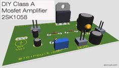 2SK1058 Class-A Amplifier