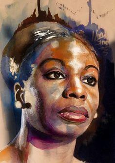 Nina Simone by cloudgap