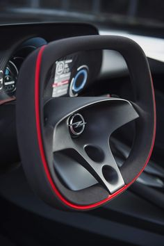 """Known as the """"German Mini-Corvette"""", the Opel GT Concept 2016 is a magnificent piece of automotive design. """"The GT trades on a name first applied… Car Interior Design, Interior Sketch, Automotive Design, Auto Design, Truck Design, Opel Gt Concept, Concept Cars, Automobile, Audi"""