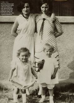 Norma Jeane with her mother Gladys Baker.