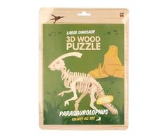 Keycraft  | Discovery | Large Wood 3D Dinosaur Kit