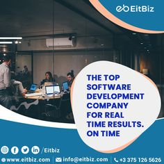 EitBiz is an industry-leading software and mobile app development company. Let's Create Big Stories Together, Get our professional designers, developers and project management experts to work on your latest idea. #customsoftwaredevelopmentcompany #softwaredevelopment #eitbiz Mobile App Development Companies, Mobile Application Development, Software Development, Global Mobile, Mobile Web Design, Custom Website Design, Ecommerce Solutions, Global Brands, Digital Marketing Services