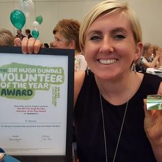 Yay! Awarded Macmillan Cancer Support 'The 2017 Sir Hugh Dundas Volunteer of the Year Award'  #volunteer #cancer #stagefourcancer #ovariancancer #fundraiser #macmillancancer #macmillan #macmillancancersupport #award #event #awardceremony #fb