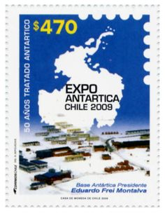 Chile treaty member th Antartica Chilena, Juan Fernandez, South American Countries, Easter Island, Postage Stamps, Presidents, Base, Cl, 50th