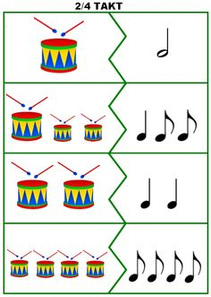 Music Education Lessons, Music Lessons For Kids, Music For Kids, Preschool Music Activities, Music Worksheets, Music Crafts, Baby Music, Elementary Music, Music Theory