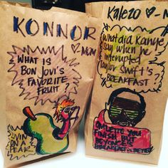 Pin for Later: This Mom Continues to Outdo Herself With Hilarious Lunch Bag Jokes Breakfast Omelette, Puns, Hilarious, Jokes, It Is Finished, Good Things, Mom, My Favorite Things, Instagram Posts