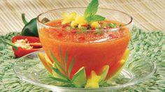 Gaspacho au melon | Recettes IGA | Dessert, Soupe froide, Recette facile