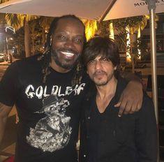 Chris Gayle shares pic with Shah Rukh Khan - Social News XYZ Latest Cricket News, Sr K, Madhuri Dixit, Indian Movies, Katrina Kaif, Bollywood Actors, Shahrukh Khan, Current Events, Premier League