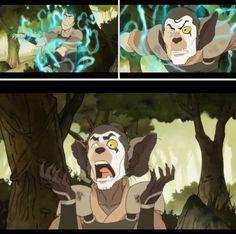 The Legend of Korra: the aye aye spirit be angry!