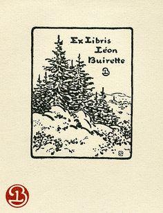 [Bookplate of Leon Buirette]