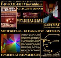 Event: GUTSHOUSE Ü30 PARTY - einmalig ★ stilvoll ★ extravagant #Party #Event #GUTSHOUSE