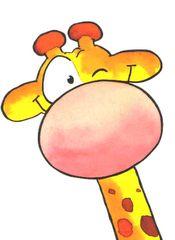 List of attractive dagritmekaarten leendert jan vis ideas and photos Cartoon Drawings, Easy Drawings, Animal Drawings, Cartoon Art, Fabric Painting, Painting & Drawing, Painting For Kids, Art For Kids, Giraffe Drawing