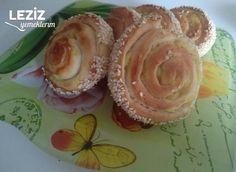 Patatesli Nefis Ve Kolay Rulo Poğaça Muffin, Breakfast, Desserts, Food, Morning Coffee, Tailgate Desserts, Deserts, Essen, Muffins