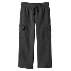 Toddler Boy Jumping Beans® Fleece-Lined Solid Cargo Pants