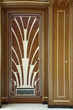 """""""Art Deco Door""""  - Repinned via: @designerwallace -"""
