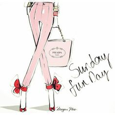 Love these fashion drawings by Meagan Fless! So cute and girlie!