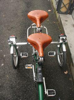 「ラグジュアリーTRIQUAD 」 イタリア製 二人乗り&三輪ブロンプトンスペシャル改造クラフトキット - スポーツサイクルまったり選び