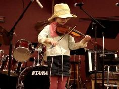 """Fiddle Song (5 year old Suzuki violinist) [performing """"Bile Them Cabbage Down""""] Our five year old daughter playing her fiddle song at our church's variety show. (She is almost done with Suzuki Book 1.) See more of this young violinist #from_tarabarthel"""
