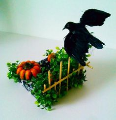 The Crow - Halloween Candle Holder