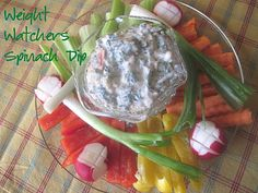 The Better Baker: Weight Watchers [Very Low Point] Spinach Dip