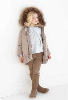 Tartine et Chocolat kids fashion in camel colourways for winter 2012, note the jodphur pants