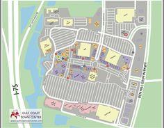Gulf Coast Town Center map