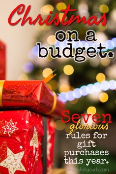 christmas on a budget the rules for family gift purchases - Cheap Christmas Gifts For Family
