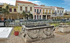 Patras Stops - Greece Is Greece, Patras, Mansions, House Styles, Roman, Home Decor, Greece Country, Decoration Home, Manor Houses