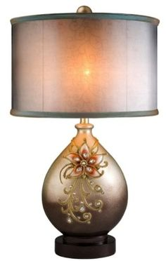 Ore International K-4248T Sapphire Rose Table Lamp ORE http://www.amazon.com/dp/B00GSWN79A/ref=cm_sw_r_pi_dp_8uKyub1HBV22V