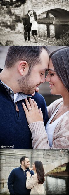 Danyel & Michael's December 2015 #engagement #portrait at Verona Park! | photo by deanmichaelstudio.com | #njengagement #njportrait #engagementportrait #winter #love #photography #DeanMichaelStudio