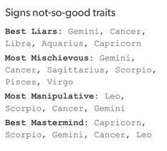 I'm actually also a really good liar as well as the other three #Scorpio