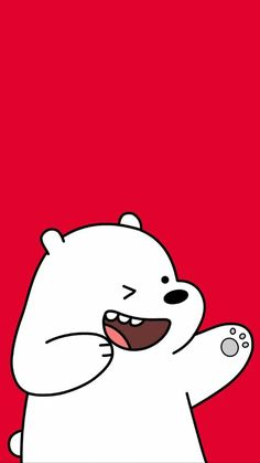 We Bare Bears Shared Naty On We Heart It pertaining to The Most We Bare Bears Red Wallpaper - Find your Favorite Wallpapers!