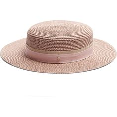 1be8937723d Maison Michel Rod hemp-straw hat (7.658.550 IDR) ❤ liked on Polyvore  featuring accessories