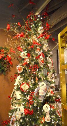 Festive Trees from the Flower Cart 2015 Christmas Open House