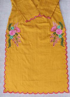 Sleeves Designs For Dresses, Dress Neck Designs, Stylish Dress Designs, Sleeve Designs, Embroidery Suits Punjabi, Embroidery Dress, Machine Embroidery, Punjabi Boutique, Punjabi Suits Designer Boutique