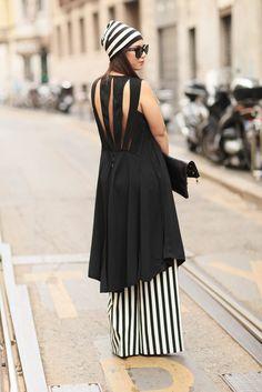 Milan Fashion Week Street Style Photo 30