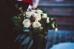 Bridal bouquet     Pink Iceland Wedding Planners  Photo by Kristin Maria
