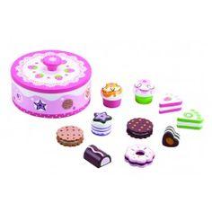 Treleke - Kaker i Kakeboks  - Lekebutikk på nett