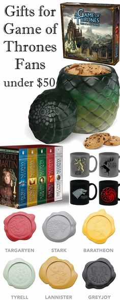 Game of Thrones Gifts Under $50