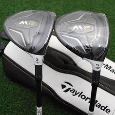 TaylorMade Golf M2 Fairway 3&5 Wood Matched SET Graphite REAX Extra Stiff X -NEW
