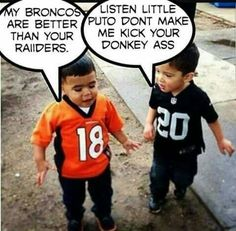 Broncos Memes, Nfl Memes, Broncos Fans, Football Memes, Nfl Football, Oakland Raiders Wallpapers, Oakland Raiders Football, Pittsburgh Steelers, Dallas Cowboys