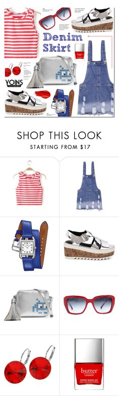 """Yoins 5 - Summer Road Trip"" by anyasdesigns ❤ liked on Polyvore featuring Hermès, Anya Hindmarch, Chanel, L. Erickson, Butter London and Urban Decay"