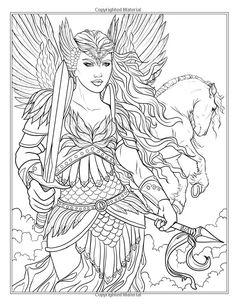 vsledek obrzku pro dragon and unicorn coloring book fantasy nouveau adult coloring books of - Art Nouveau Unicorn Coloring Pages